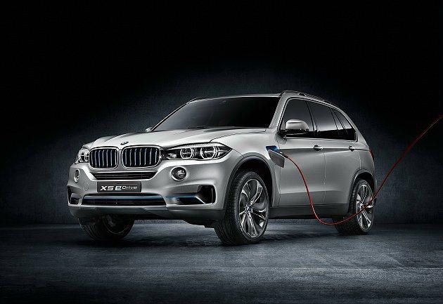 BMW Concept X5 eDrive水箱護罩直列柵門和前氣壩都運用BMW ...