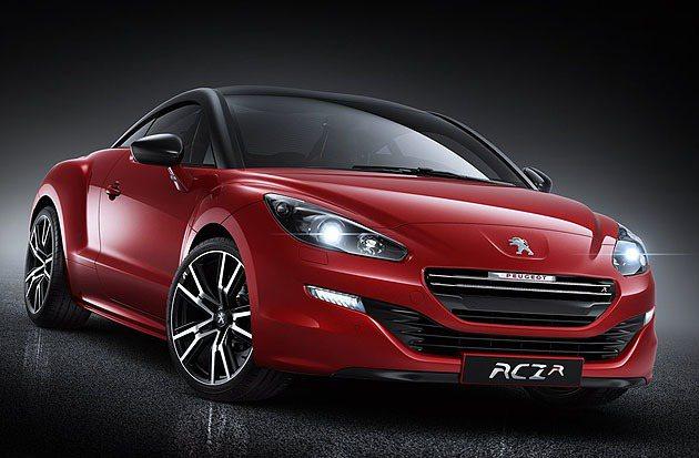 RCZ R量產版本。 Peugeot
