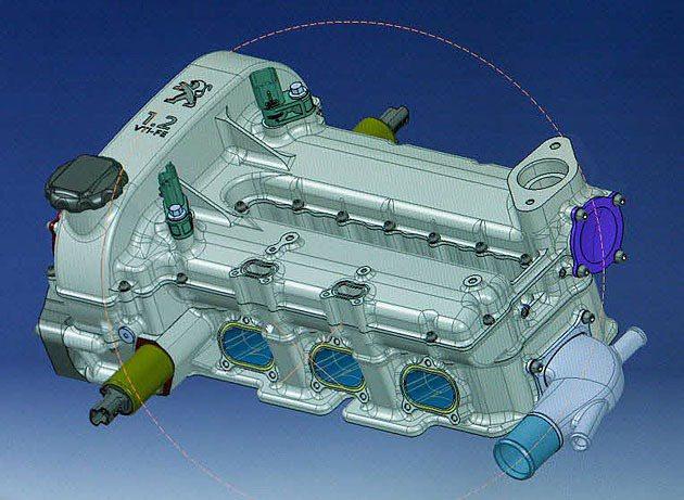 1.2L汽油引擎導入缸內直噴技術。 Peugeot