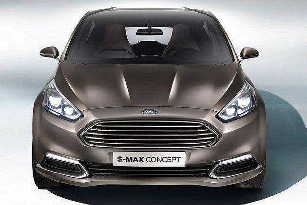 車頭可看到其他家族成員的影子。 Ford