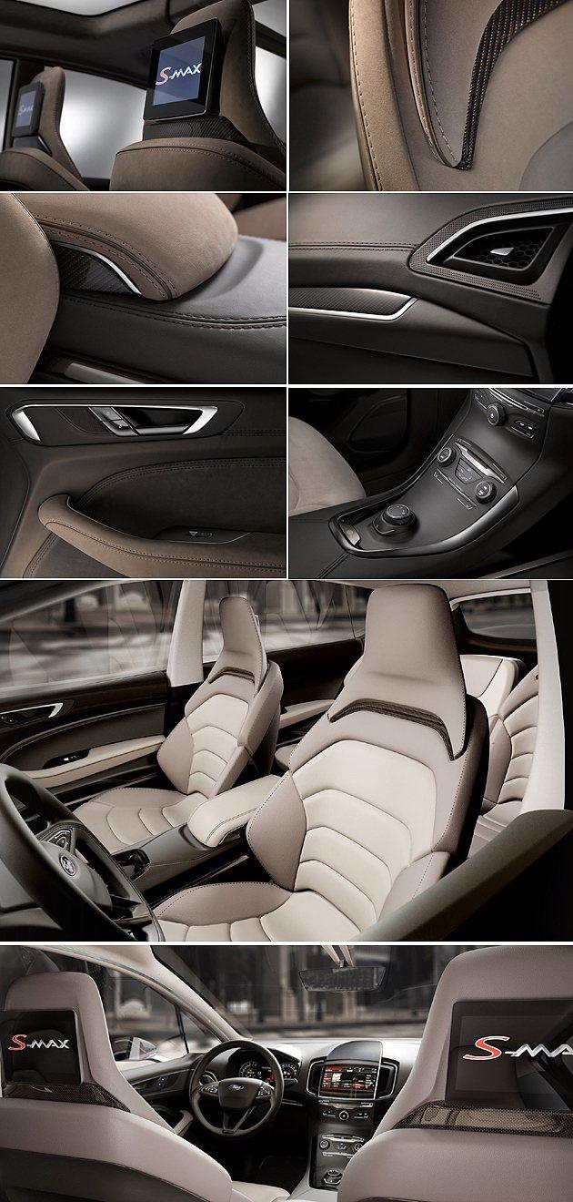 內裝為七人座,強調更高的質感與新的座椅設計。 Ford