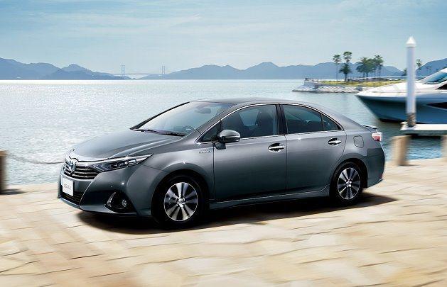 Toyota Sai提供三種車色。 Toyota提供