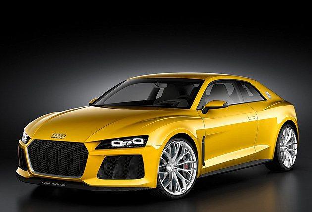 Audi Sport quattro概念超跑具輕量化車身並結合複合動力 Audi