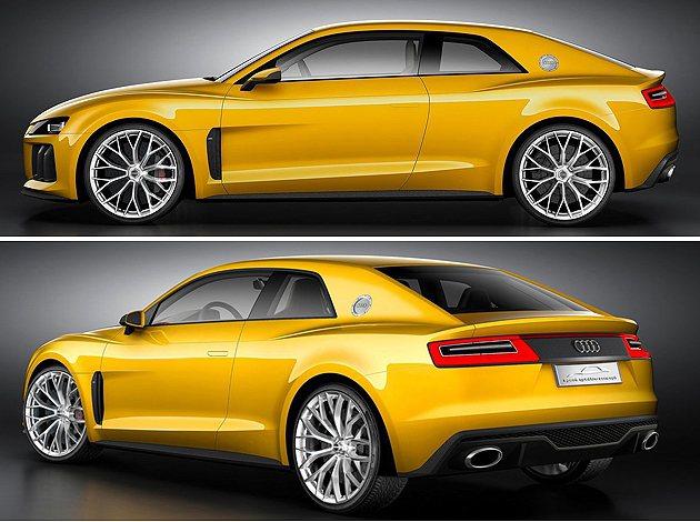 Audi Sport quattro配上21吋大胎並有纖陶瓷煞車系統 Audi