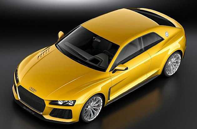 Audi Sport quattro採極度極輕量化概念車頂等部件採用碳纖材質 A...