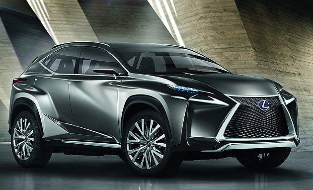 LF-NX是Lexus全新設計語彙的示範車款 Lexus