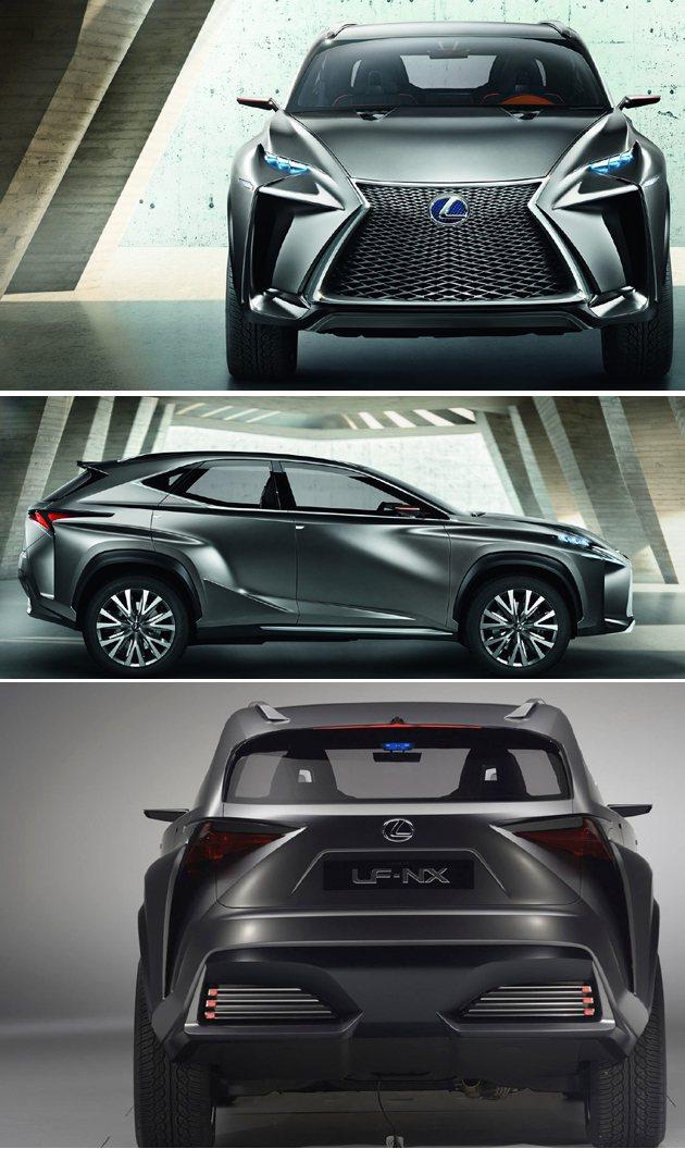 中型SUV市場競爭激烈。 Lexus