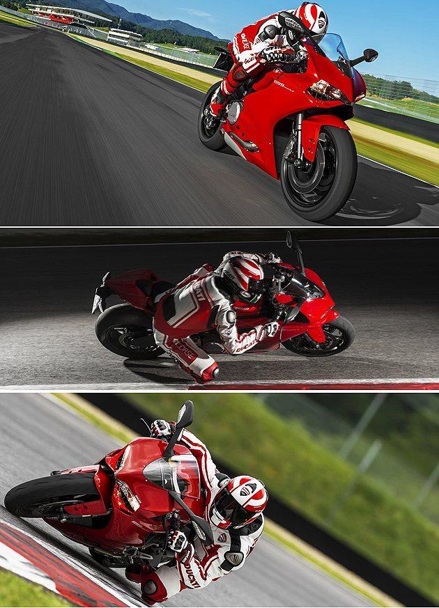 僅146kg的輕量 化。 Ducati
