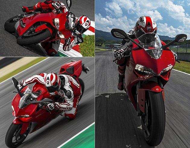 899 Panigale在出彎後就能感受到L-Twin的加速爆發力。 Ducat...
