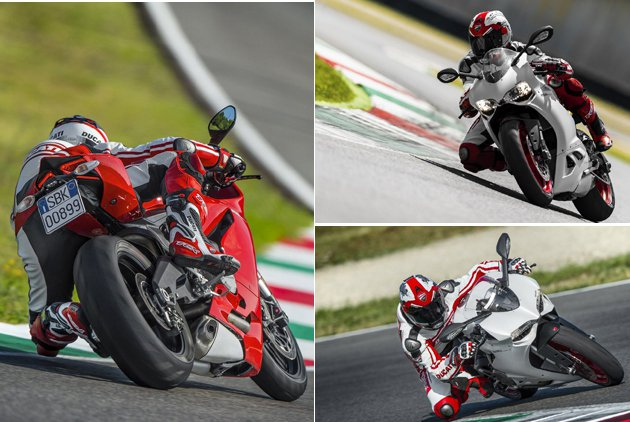 899 Panigale彎道中更加靈活。 Ducati