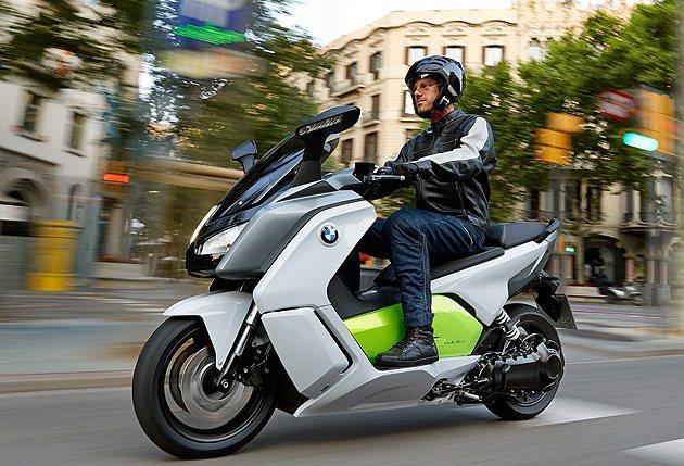 C Evolution量產版終於現身。 BMW