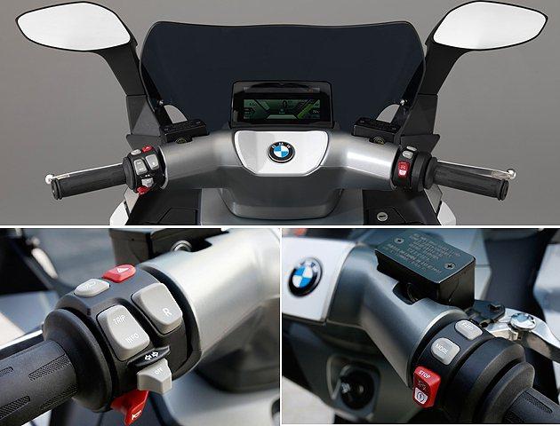 模組化的控制讓C Evolution效能掌握得更細膩。 BMW