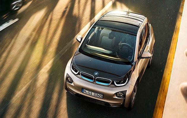 BMW i3與C Evolution是品牌都會新搭擋。 BMW