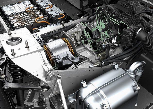 BMW i3的馬達機構,也縮小移植到C Evolution車上。 BMW