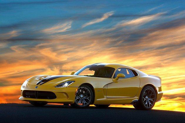 2014年式SRT Viper超跑擁有更升級的安全系統。 Chrysler提供