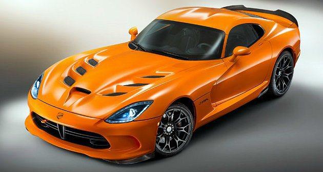 2014 SRT Viper可輸出最大馬力640hp。 Chrysler提供