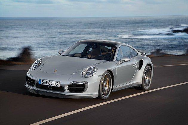 全新保時捷911 Turbo 為2013 年最佳設計創新車款。 Porsche提...