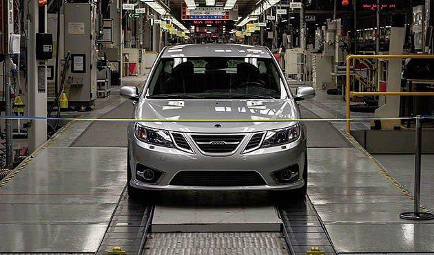 9-3 sedan終於重新走下生產線,雖然與過去有點不同的含意。 Saabsun...