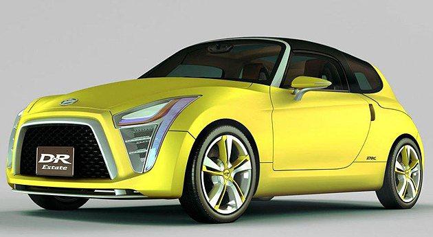 D-R Estate讓人想起Daihatsu的小跑車Copan。 Daihats...