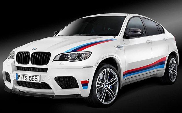 BMW X6 M Design Edition限量100台發表。 BMW