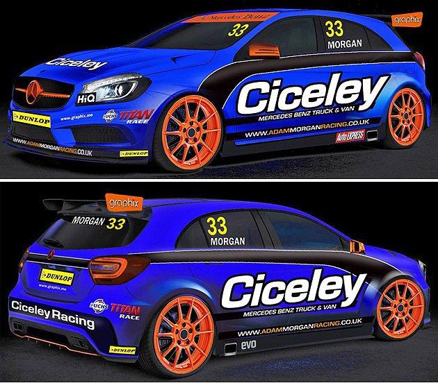 Adam Morgan明年將駕駛這輛賽車出賽 Ciceley Racing