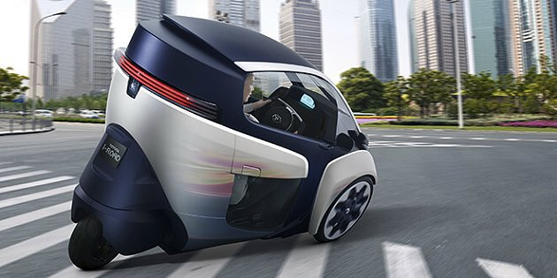 i-Road將與Toyota「優化城市交通系統」運輸計畫結合。 Toyota提供