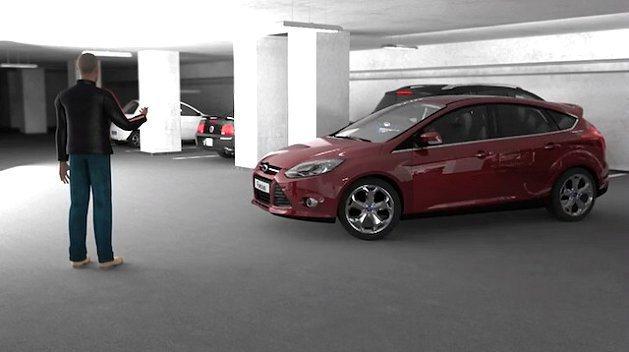 自動停車輔助系統非常便利。 Ford提供