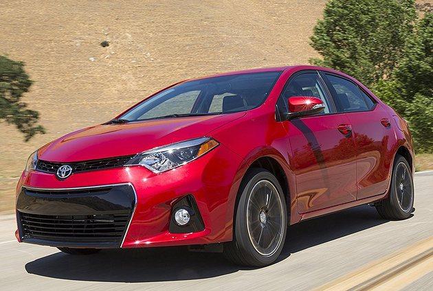 Toyota美規Corolla也是暢銷車款。 Toyota