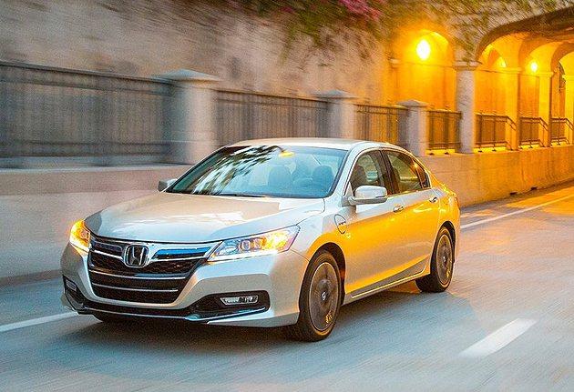 Honda Accord PHEV省油效果看得見。 Honda
