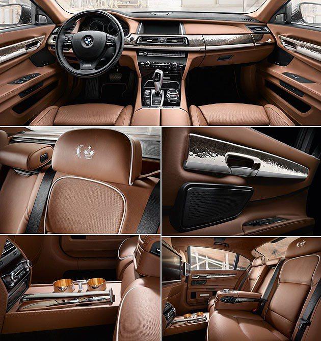 內裝的Robbe & Berking風格。 BMW