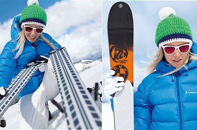 BMW也設計滑雪套件,創意十足。 BMW提供