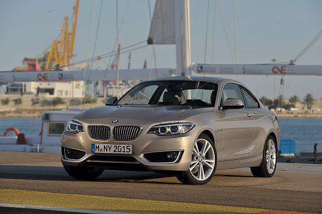 2系列具高度駕馭樂趣。 BMW提供