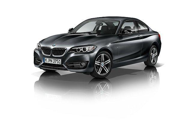 2系列將在12月28日台北車展中首度與台灣車迷見面。 BMW提供