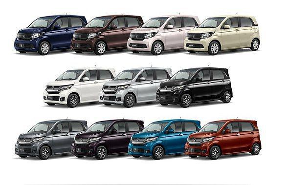N-WGN有11種車色。 Honda提供