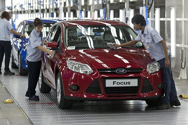 Ford Focus於北美、大陸、泰國、越南、俄羅斯、德國、阿根廷與台灣等九大產...