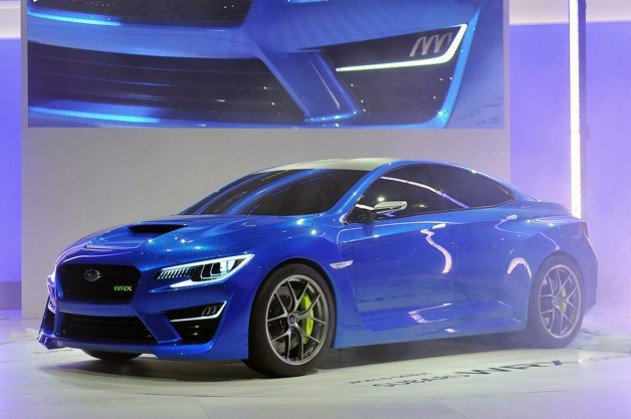 WRX將是明年台灣的重點新車。 Subaru