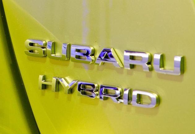 Hybrid標誌何時會出現在Subaru身上,還有得等。 Subaru
