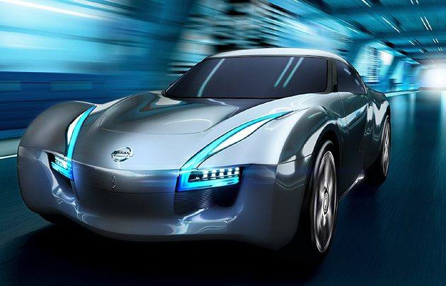 圖為Nissan在2011展出的Esflow Coupe Concept。 N...