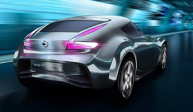Esflow Coupe Concept就是370Z的縮小版概念。 Nissan