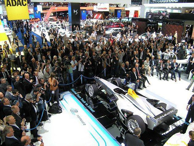 明年九月份正式開賽的首屆Formula E Championship電動方程式大...