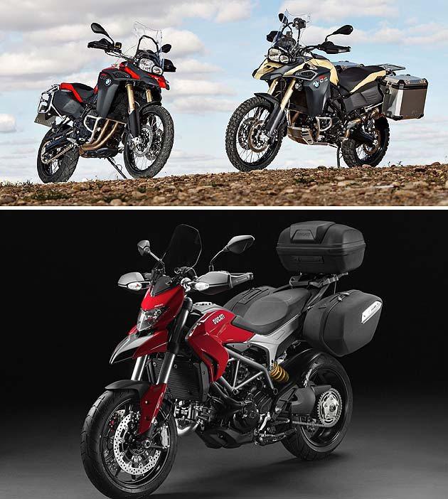 BMW F800 GS與Ducati Hyperstrada Ducati/BM...