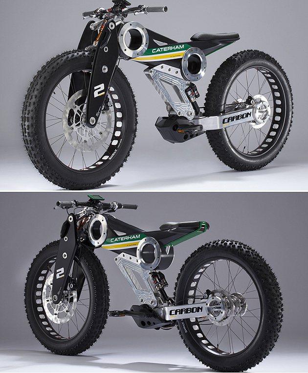Carbon E-Bike Caterham