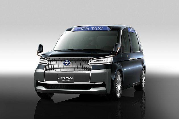新世代計程車JPN Taxi Concept。 Toyota提供