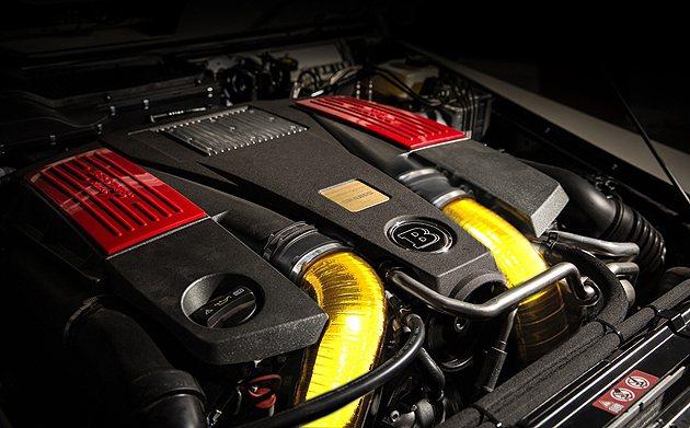 700hp最大馬力的5.5L V8引擎 Brabus