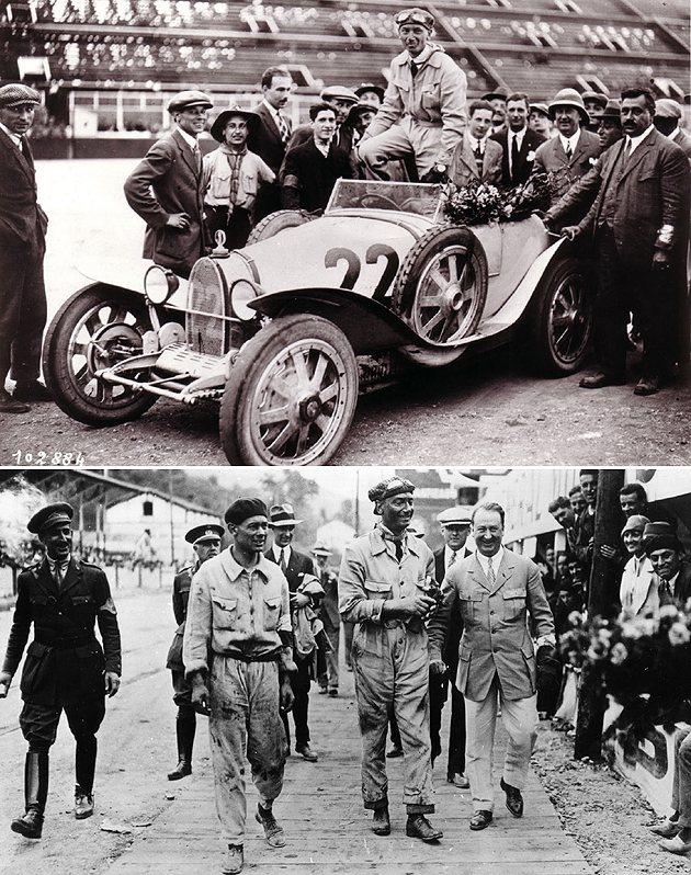 Meo Constantini是創辦人Bugatti的親密戰友。 Bugatti