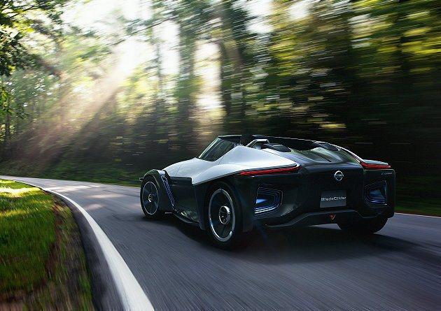 BladeGlider低重心配置讓它在彎道上能追求極限邊緣的操控。 Nissan...