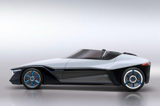 BladeGlider車身上下採不同材質打造,上半為CFRP車體。 Nissan...