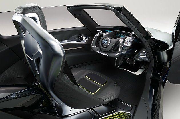 BladeGlider座艙融入許多賽車元素以強化駕馭樂趣。 Nissan提供