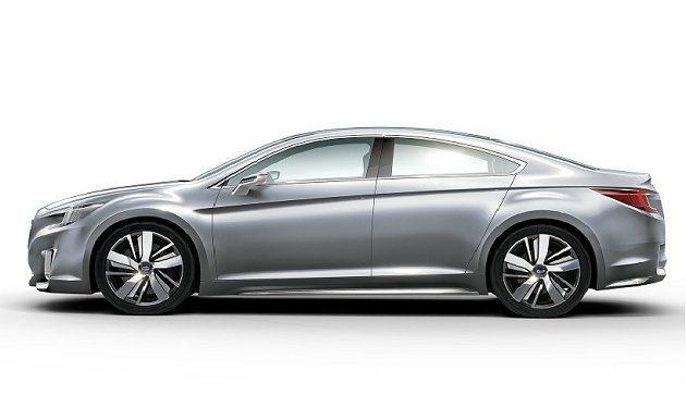 向後下拋的車頂線,讓動感倍增。 Subaru提供
