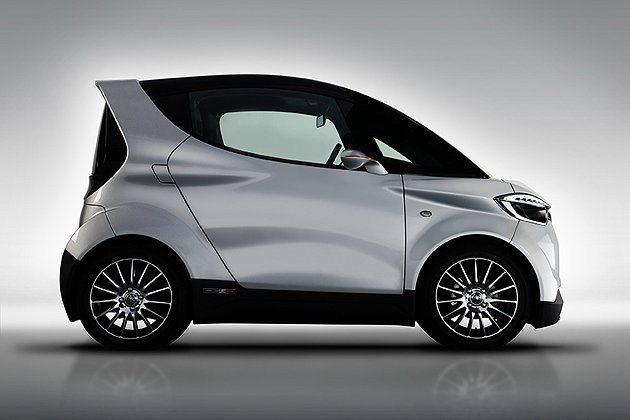 MOTIV.e的車身長、寬、高為2690mm、1470mm、1,480mm,車身...